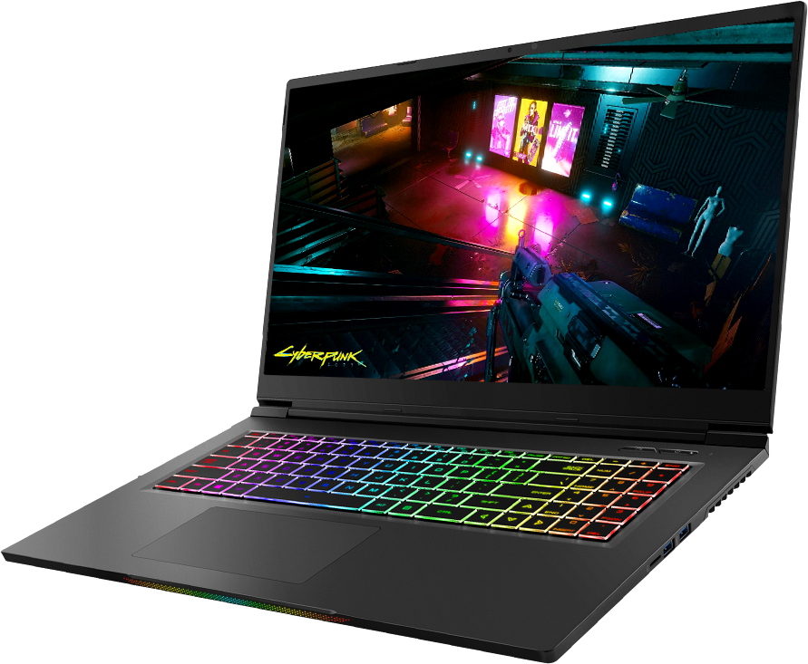 "Magnesium 17,3"" Laptop met RTX 3070 samenstellen"