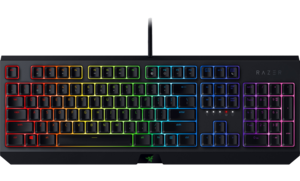 BlackWidow gaming keyboard