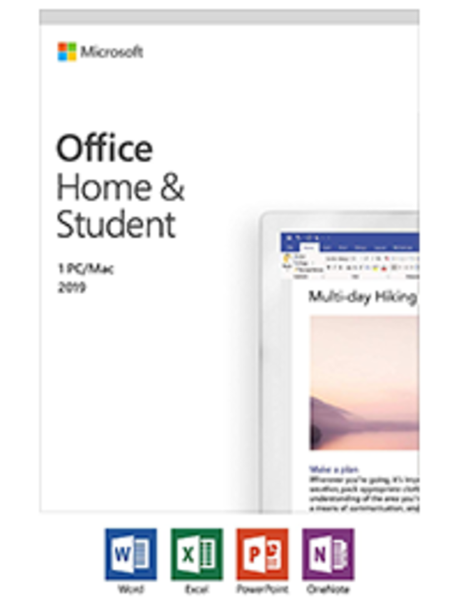 Office Home & Student 2019 1-PC/MAC